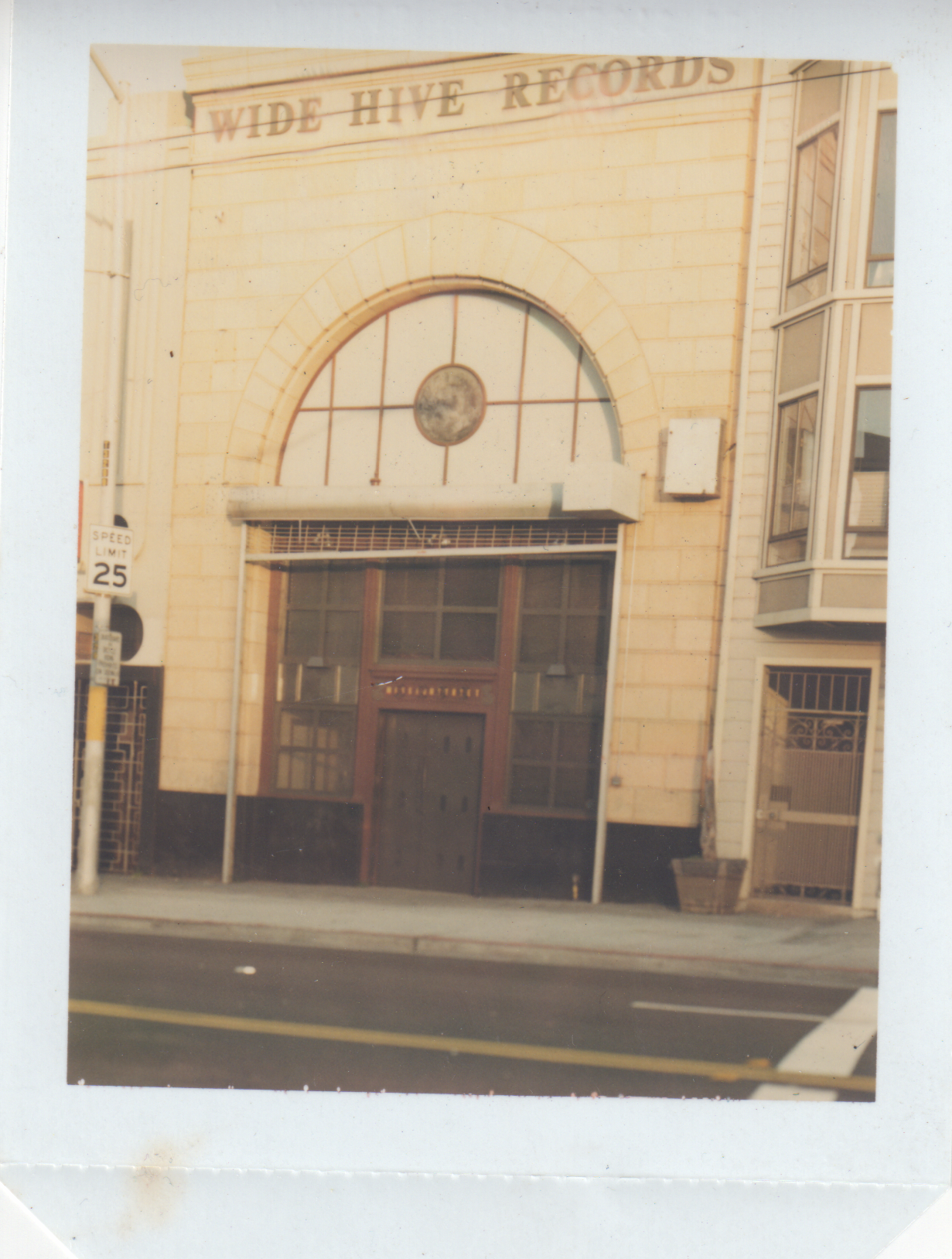 Photo of original Wide Hive Building, circa 1999.