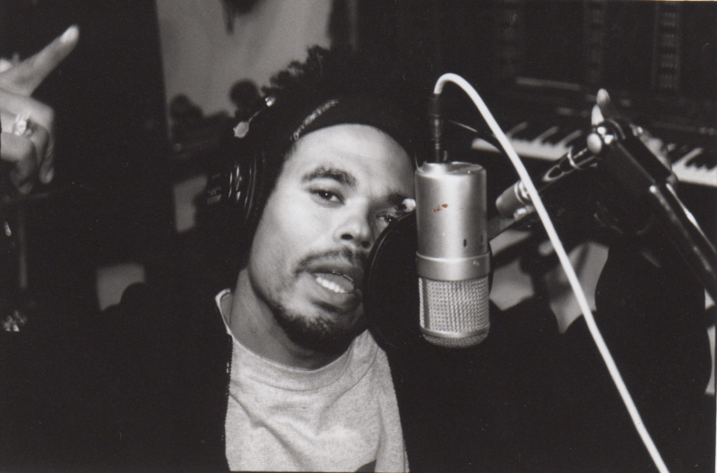 A photo of Azeem at the Wide Hive Studios.