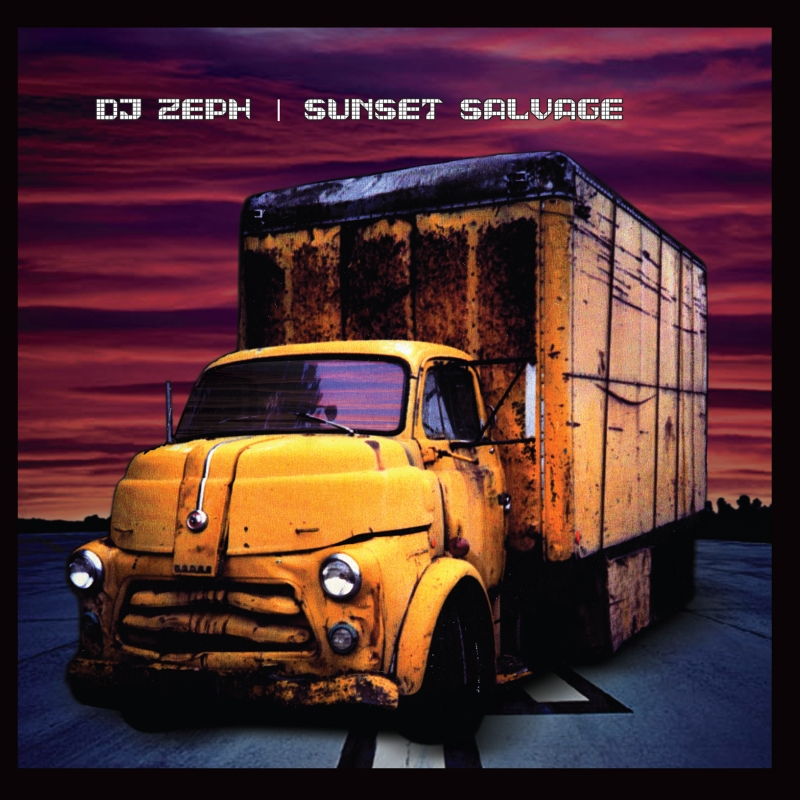 "The Cover of the Wide Hive release ""Sunset Salvage,"" by DJ Zeph."