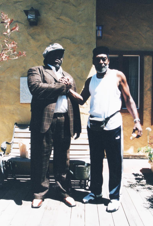 A photo of Doug Carn and Calvin Keys