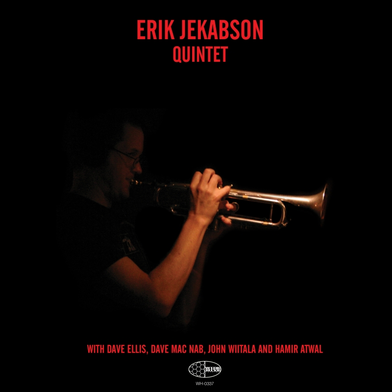 "A picture of the album cover for the ""Erik Jekabson Quintet."""