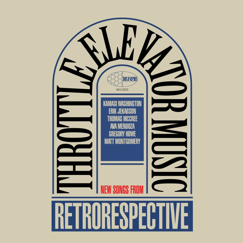 "A picture of the album cover for ""Throttle Elevator Music: Retrorespective."""