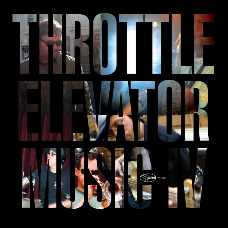 "A photo of the cover of ""Throttle Elevator Music IV."""
