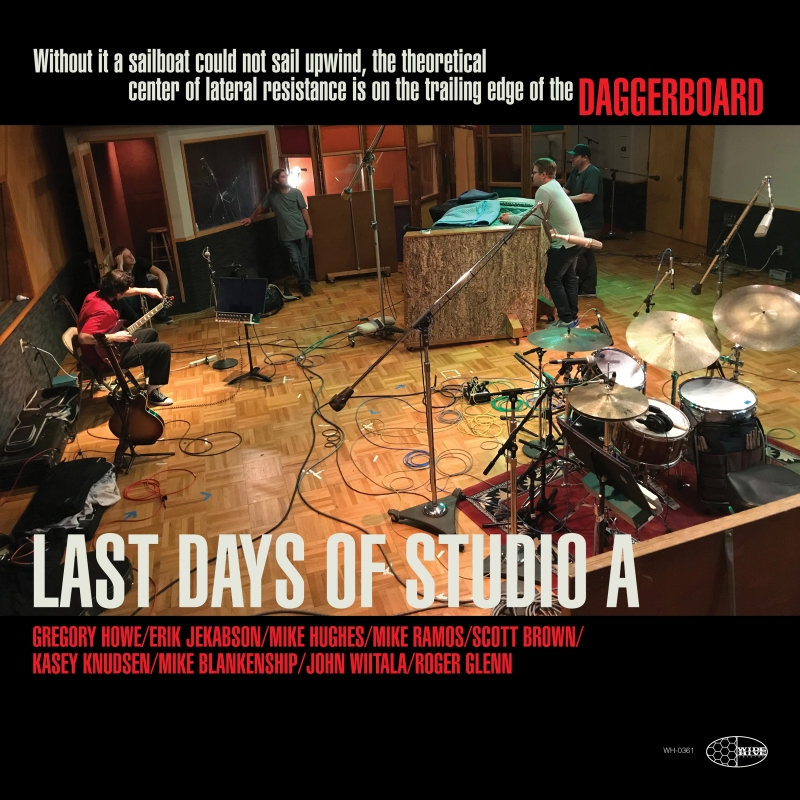 """Picture of the cover of """"Daggerboard: Last Days of Studio A"""""""