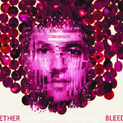 "The cover of the dissent album ""Bleeding Together."""