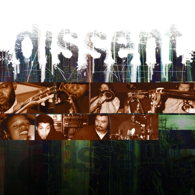 "The cover of the album ""dissent"" by ""dissent."""