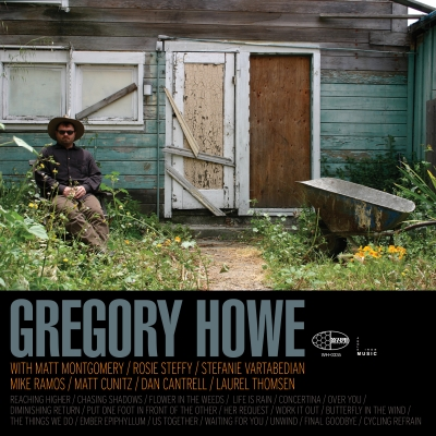 "A picture of the cover of the record album ""Gregory Howe."""
