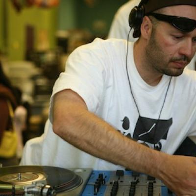 DJ Quest at Amoeba Records, 2011