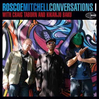 Cover of the Wide Hive Release, Roscoe Mitchell Conversations I