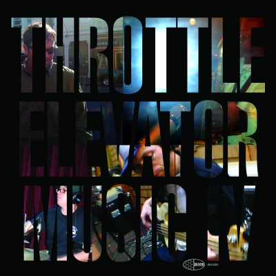 A photo of the cover of Throttle Elevator Music IV