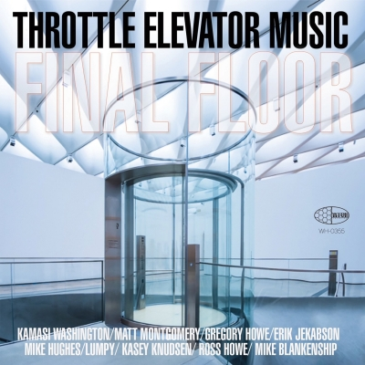 "The cover of the album ""Final Floor"" by Throttle Elevator Music Featuring Kamasi Washington"